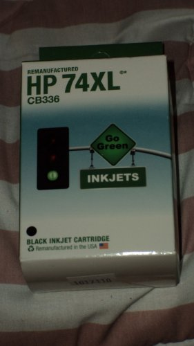 Remanufactured HP 74XL CB336 Inkjets Black Inkjet cartridge