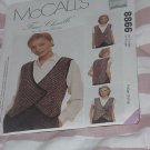McCalls 8866 Faux Chenille Vest Small, Medium Large Extra Large  No. 174
