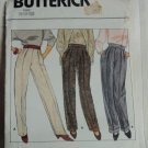 Pants Pattern 6143 Uncut Butterick 8-10-12 straight leg pants pattern