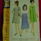 Maternity Dress Size 12 Pattern in three Versions 8639 Easy to Sew McCall's No. 177