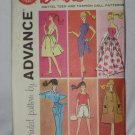 Doll Clothes Original Advance Pattern 6 patterns Group A No. 174
