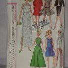 Simplicity 6208 Doll One Size 1965 pattern Ideal Toy Corp  No. 174