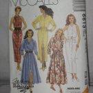 McCall's uncut Fashion Basics Dresses Pattern no 6613 Size C 10-14 No. 174