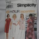 Simplicity Sewing Pattern 8962 Womens size AA XS,S,M 2 hour separates dress tunic pants  no. 178