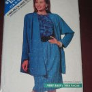 Butterick Sewing Pattern 6518 Womens size A 8-10-12 Jacket Skirt Top  No. 178