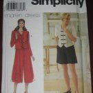 Simplicity Sewing Pattern 7125 size R 14-18 Petite top Pants Shorts  No. 178