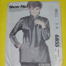 McCalls Sewing Pattern 6855 Womens Size C 10-12-14 Womens Pullover top No. 178