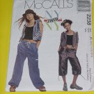 McCalls Sewing Pattern 2238 Womens Size JR  9/10-11/12-13/14 Jacket Vest Pants No. 178