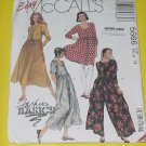 McCalls Sewing Pattern 5666 Womens Size 14  Dress Jumpsuit  No. 178