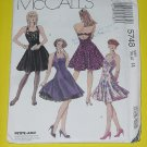 McCalls Sewing Pattern 5748 Womens Size 14  Dress Petticoat  No. 178