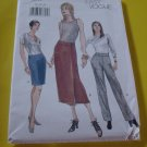 Vogue 9856  Sewing Pattern Very Easy Vogue size 12-14-16 Skirt Pants  No. 178