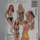 McCalls Sewing Pattern 5998 Size 14 Swimsuits Stretch Knits Only No. 178