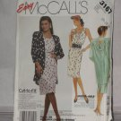 McCalls Sewing Pattern 3167 Size C 10-12-14 Misses Unlined Jacket Dress No. 178