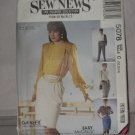 McCall's Sew News 5078 Size 10-14 Sewing Pattern Misses Skirts Pants  No. 178