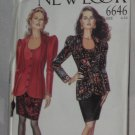 Butterick Sewing Pattern Jacket Skirt 6646 Size 6-16 No. 178