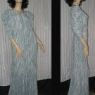 70s 1980s Mary McFadden Fortuny pleats dress top Size 8 NO. 180