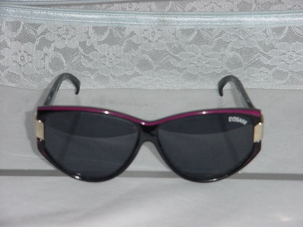 Bosani Wine Black Sunglasses Large Lens  No. 76