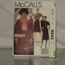 McCalls Dynasty Sewing Collection Pattern 9243 Size 14 Misses Jacket Blouse Skirt Belt  No. 183