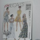 Dress Split Skirt Dress McCalls 6004 sewing pattern  No. 184