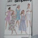 Simplicity Easy to Sew 7884 Dropped Waist Dress Uncut Dress Pattern No. 184