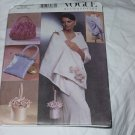 Vogue 7189 Accessories One Size Bags Wrap No. 185