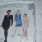 7406 Dresses McCall's Busy Woman Sewing Pattern Size G 20, 22, 24  No. 185