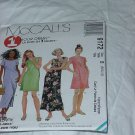 9172 McCall's One Hour Dress Two Lengths Sewing Pattern Size B 8, 10, 12  No. 185