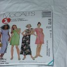 9172 McCall's One Hour Dress Two Lengths Sewing Pattern Size D 12, 14, 18  No. 185