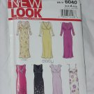 6040 New Look Dresses Sewing Pattern Simplicity Size A 8-18  No. 185