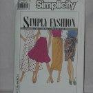 9626 Simplicity Skirts Half Circle Skirt Mock Sarong Size H5 6-14