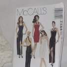 7154 McCall&#39;s Misses&#39; Dress Formal Dress Prom Size D 12,14,16  No.185