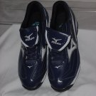 Mizuno 9-Spike Classic Low G6 Switch Metal Baseball Cleats Athletic Shoes Blue White No. 190