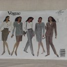 Vogue Misses' Jacket Dress Top Skirt Pants 1044 Dress 8-10-12  No. 188