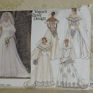 Vogue's Basic Design 1511 Size 12 Wedding Gown Bridal Gown  No. 60