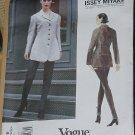 Vogue's Designer Original 1886 Issey Miyake Jacket Leggings size 8 10 12  No. 320