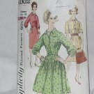 Simplicity 4002 Pattern dress one piece missing-sleeve-v 3 Size 42 Bust 44 No. 187