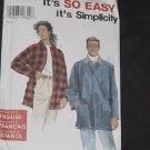 Simplicity 7441 It's So Easy Misses' Men's Teen's Jacket No. 190