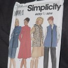 Simplicity 9396 Size RR 14-20 Easy to Sew Maternity Vest Pants Skirt Knit Dress or Tunic No. 190