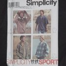 Simplicity 9226 Misses' Men's Teens Tops xs, s, M  No. 190