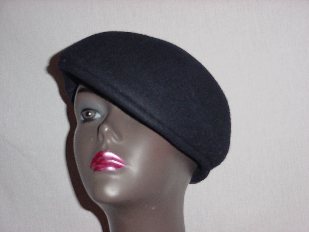 Kangol XL Wool Ivy Cap Navy Blue Wool hat mens dress hat No. 190