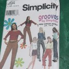 Simplicity 9394 Size AA 3/4-9/10 Grooves Pants Shorts Knit Top by Simplicity  No. 81