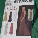 Simplicity 8946 Size A 8-18 Lined Sleeveless Dress Style for Simplicity  No. 191