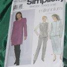 Simplicity 8849 Size RR 14-20 Uncut Dress Jacket Skirt Pants No. 191