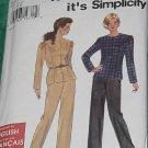 Simplicity 7395 Size A 18-18 Uncut Top Pants  No. 191