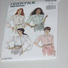 3028 Butterick Fast & Easy Blouses Shirts sewing Pattern 12-14-16 Uncut No. 191