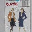 Burda 4987 Jacket Split pants Skirt Size 10-20  NO. 192
