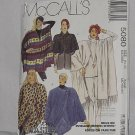 Shawl Poncho Coccon Jacket McCalls 5080 Size 14-16 Capelet No. 192