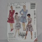 McCalls 5180 Misses Dress sleeve variation Dropped waist Size 8-10-12  No. 192
