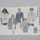 5388 Butterick Misses' Shirt sewing Pattern Size 8-10-12 Uncut No. 192