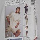 7444 McCalls Misses' Unlined Jacket Top Pants Skirt sewing Pattern Size B 8, 10, 12 Uncut No. 193